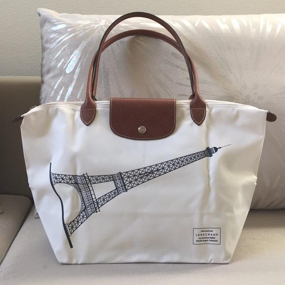 e720e9e07f24 Longchamp Handbags - Authentic Longchamp Eiffel Tower Paris Tote Bag